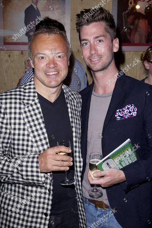 Graham Norton and Trevor Patterson