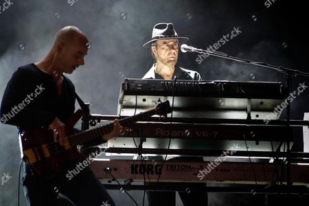 Stock Picture of Manfred Mann's Earth Band - Steve Kinch and Manfred Mann
