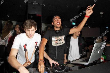 Editorial image of Noah Becker DJing at P1 Club and Bar, Munich, Germany - 25 May 2012