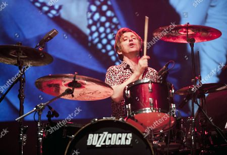 Editorial photo of Buzzcocks in concert at Manchester Apollo, Britain - 25 May 2012