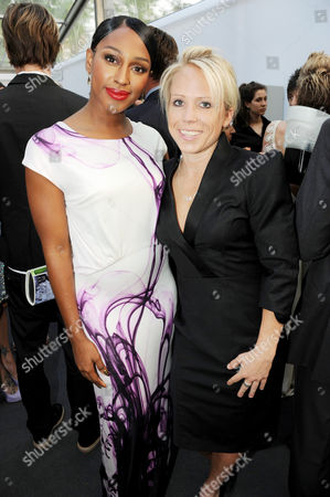 Alexandra Burke and Clemmie Moodie