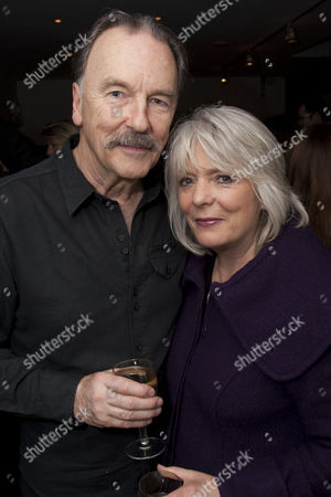 Michael Elwyn (Sir Johnstone Kentley) and Alison Steadman