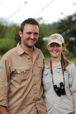 Jess and Sarah Hall, who currently manage Akagera National Park, Rwanda.