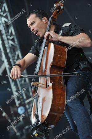Editorial photo of Sonisphere 2010 - Apocalyptica