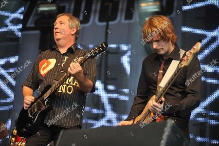 Editorial picture of Vintage at Goodwood Festival 2010 - The Buzzcocks