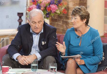 Kelvin MacKenzie and Sue Hill