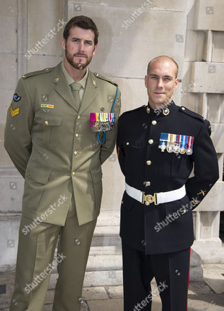 Editorial photo of Victoria Cross and George Cross Association Reunion Service at St. Martin-in-the-Fields, London, Britain - 30 May 2012