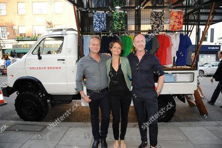 Ian Wace, Saffron Aldridge and Adam Brown