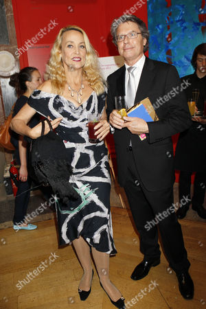 Stock Image of Jerry Hall and Warwick Hemsley