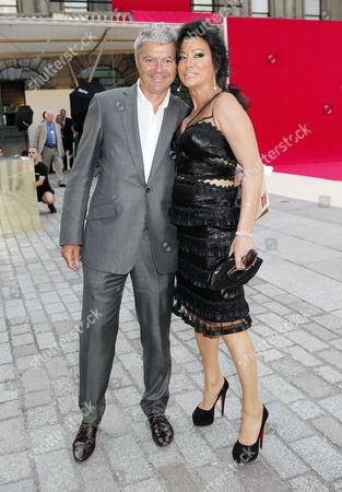John Gardner and Nancy Dell'Olio