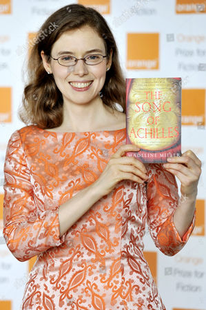 Madeline Miller wins the Orange Prize For Fiction for the book 'The Song of Achilles'