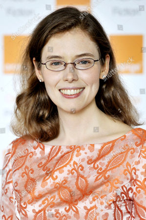 Stock Picture of Madeline Miller wins the Orange Prize For Fiction for the book 'The Song of Achilles'