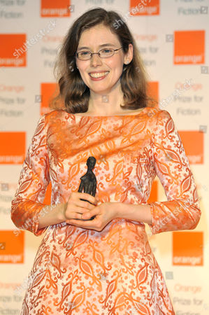 Stock Photo of Madeline Miller wins the Orange Prize For Fiction for the book 'The Song of Achilles'