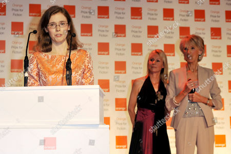 Editorial image of Orange Prize For Fiction, London, Britain - 30 May 2012