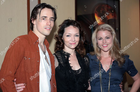 Reeve Carney, Katrina Lenk and Rebecca Faulkenberry
