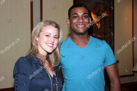 Rebecca Faulkenberry and Joshua Ledet