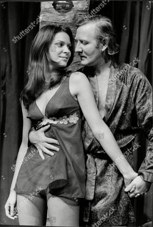 Leslie Phillips And Gail Grainger In Play At The Royal Court Theatre
