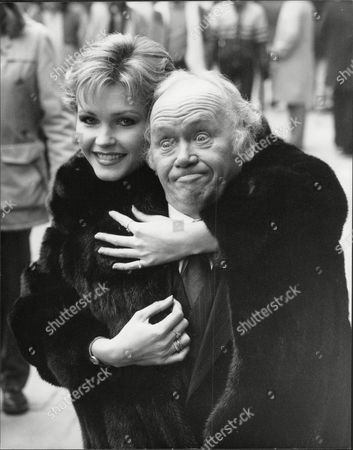 Actor And Comedian Charlie Drake With Actress Fiona Fullerton. (drake Died 12/06)