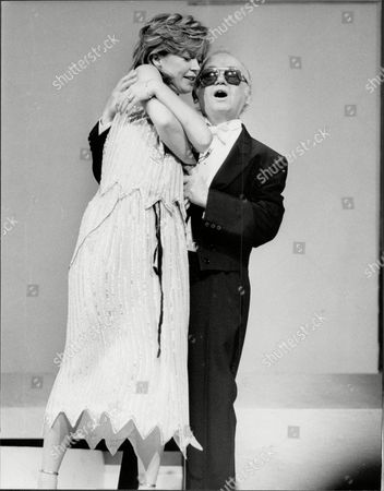 Comedian Charlie Drake (died 12/06) And Angharad Rees Rehearsing For The Royal Variety Show.
