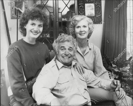 Actor And Comedian Michael Bentine (died 11/96) And Wife Clementina.