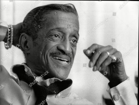 Sammy Davis Junior (dead May 1990) Singer Comedian Actor