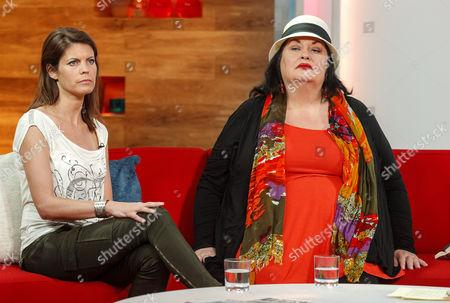 Liz Fraser and Marsha Coupe