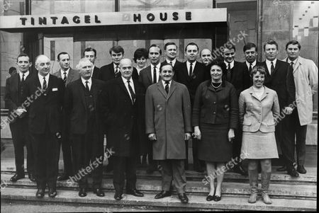 These Are The 19 Men And Women Police Officers Who Spent Nine Months Morning Noon And Night Investigating Every Facet Of The Kray Twins. The Women Officers Were Engaged In Witness Protection And Other Duties. They Are All Standing In Front In Front Of Tintagel House On The Southside Of The Enbankment Between With Lambeth And Vauxhall Bridge Which Was The Headquaters Of The Kray Investigation Team From The Left Detective Chief Inspector Frank Holt Detective Superintendent Harry Moooney Detective Inspector Frank Carter Detective Superintendent Don Adams Detevtive Sergeant Trevor Lloyd-hughes Commander John Du Rose Woman Detective Constable Carole Liston Detective Sergeant Albert Trevette Detective Superintendent Leonard (nipper) Read Detective Sergeant Algy Hemmingway Detective Sergeant Andrew Gallagher Detective Constable Robin West Woman Detective Sergeant Sheila Acton Detective Sergeant George Mckay Detective Sergeant George Ness Woman Detective Constable Janet Adams Detective Sergeant William Waite And Detective Sergeant Alan Wright