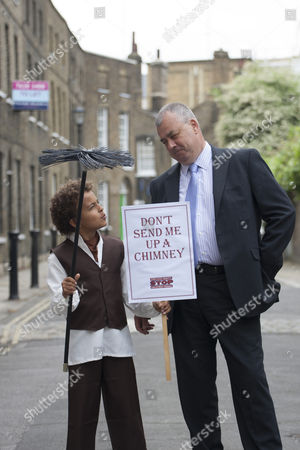 TUC General Secretary Brendan Barber (right) and Jude Chinchen (left) posing as TUC launches employment rights campaign
