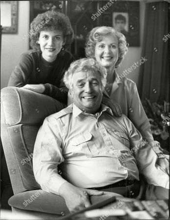 Actor And Comedian Michael Bentine (died 11/96) With Wife Clementina.
