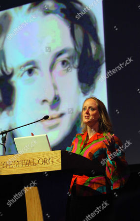 Stock Picture of Lucinda Dickens Hawksley on her great-great-grandfather Charles Dickens