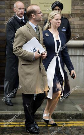Lord Nicholas Windsor and Lady Nicholas Windsor