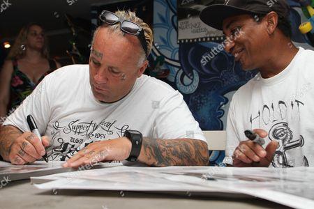 Editorial image of Jay Adams Z-Flex signing at Venice Originals Skateboard Shop, Los Angeles, America - 03 Jun 2012