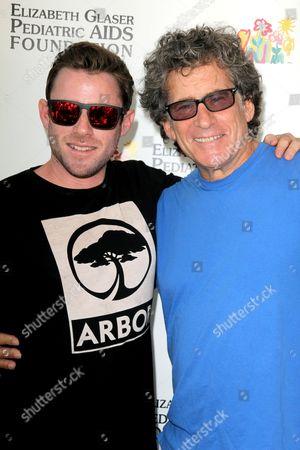 Paul Michael Glaser and Jake Glaser
