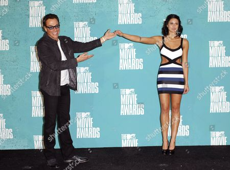 Jean-Claude Van Damme and daughter Bianca Bree