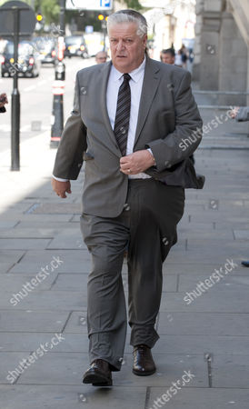 Editorial picture of Brian Gilbertson The Uncle Of Milly Dowler Who Seached For Her On The Night Of Her Disappearance Attends The Levi Bellfield Trial At The Old Bailey London.