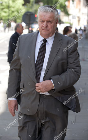 Brian Gilbertson The Uncle Of Milly Dowler Who Seached For Her On The Night Of Her Disappearance Attends The Levi Bellfield Trial At The Old Bailey London.