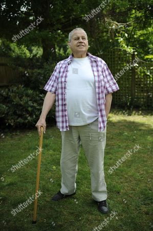 Stock Image of Ex Boxer Terry Downes.