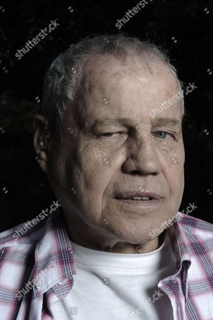 Stock Photo of Ex Boxer Terry Downes.