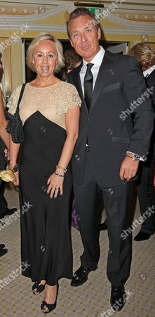 Hair Styling Charity Ball At The Dorchester Hotel. Martin Kemp and Shirlie Holliman