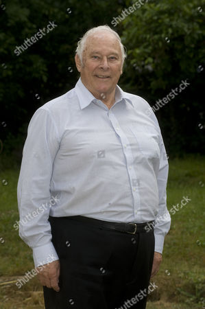Stock Picture of Denis Oliver 78 Who Worked For The Government Car Service. He Drove Margaret Thatcher Enoch Powell As Well As Many Others. Denis With His Wife Anita Age 74.