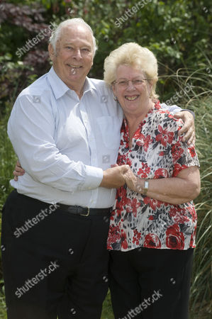 Denis Oliver 78 Who Worked For The Government Car Service. He Drove Margaret Thatcher Enoch Powell As Well As Many Others. Denis With His Wife Anita 74.