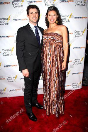 Matt Cavenaugh and Jenny Powers
