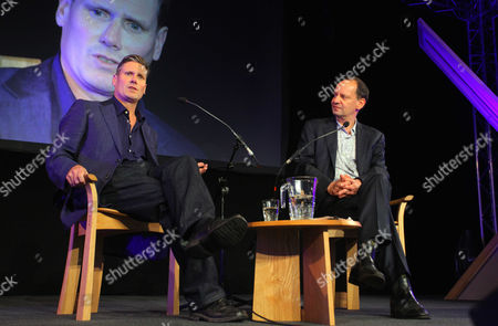 Director of Public Prosecution for England and Wales Keir Starmer and Philippe Sands