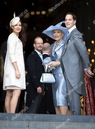 Sophie Winkleman, Lord Nicholas Windsor, Princess Michael of Kent and Lord Frederick Windsor