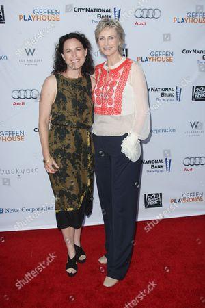 Lara Embry and Jane Lynch