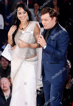 Stock Photo of Deana Uppal and Brian Dowling