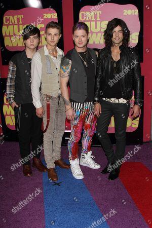 Editorial photo of 2012 CMT Music Awards, Nashville, America - 06 Jun 2012