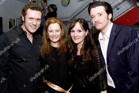 Jason O'Mara (Carl), Geraldine Somerville (Mary), Charlotte Emmerson (Gabrielle) and Jason Butler Harner (Alex)
