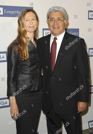 Terry Semel and wife Jane Semel