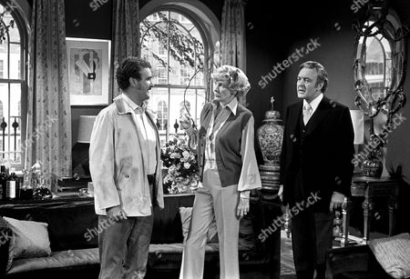 Tony Selby, Elaine Stritch and Donald Sinden